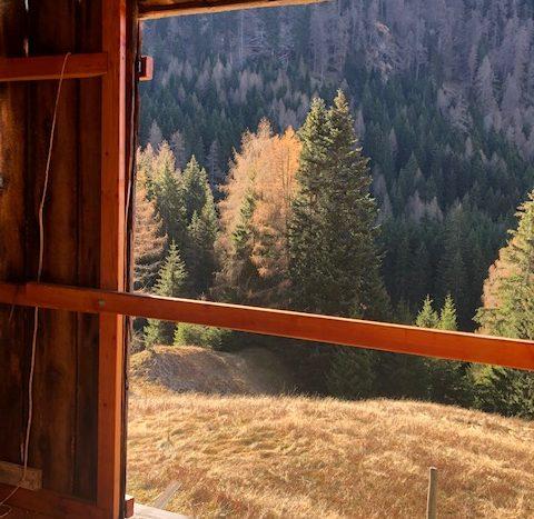 primo piano balcone con vista